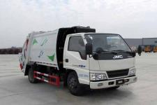 江鈴6方壓縮式垃圾車價格