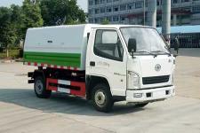 國五解放垃圾轉運車價格
