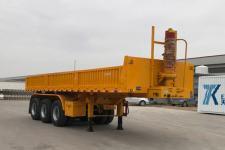 鲁郓万通8米32.4吨3轴自卸半挂车(YFW9400ZHX)