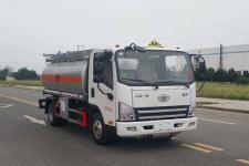 解放5吨加油车18727982299(楚胜牌汽6|柴5.4方)