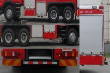 川消牌SXF5280GXFSG120型水罐消防车图片