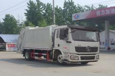 陕汽德龙12方压缩式垃圾车价格