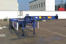 曙岳牌DSY9400TJZ型集装箱运输半挂车图片