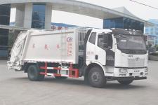 國五一汽解放14方壓縮垃圾車廠家直銷價格
