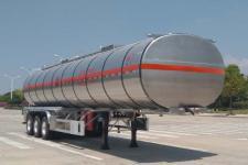 楚勝12.9米32.5噸3軸鋁合金易燃液體罐式運輸半掛車(CSC9403GRYLB)