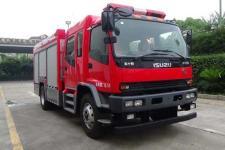 光通牌MX5162GXFSG60型水罐消防车图片