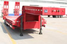 路飞12.5米27.5吨低平板半挂车