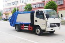 凯马蓝牌4方压缩垃圾车18727982299