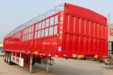 锣响12米31.1吨3轴仓栅式运输半挂车(LXC9380CCY)