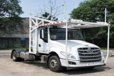 乘龙牌LZ5180TBQT5AB型车辆运输半挂牵引车图片
