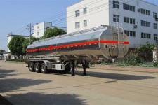 天威缘12.8米33吨3轴铝合金运油半挂车(TWY9401GYYL)