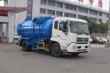 东风天锦12方餐厨垃圾车价格18672223818