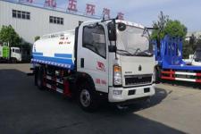 國五重汽10噸灑水車報價廠家