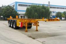 开乐10米35吨3轴危险品罐箱骨架运输半挂车(AKL9400TWY)