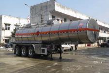 醒狮11.5米32吨3轴易燃液体罐式运输半挂车(SLS9401GRYF)