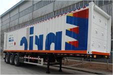 安瑞科12.2米6.1吨3轴易燃气体罐式运输半挂车(HGJ9382GRQ)