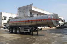 醒狮11.9米32吨3轴易燃液体罐式运输半挂车(SLS9401GRYE)