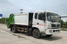 东风康机170马力/12方压缩式垃圾车价格