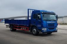 解放单桥平头柴油货车184马力9655吨图片