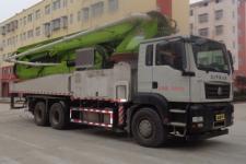 重汽豪沃单桥混凝土泵车厂家直销价格18771343716