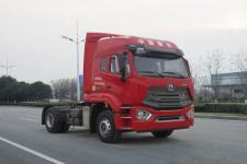 豪瀚单桥牵引车350马力(ZZ4185V3916F1)