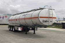 中集11.4米33.3吨3轴铝合金易燃液体罐式运输半挂车(ZJV9404GRYJM)
