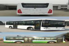 申龙牌SLK6819UBEVL7型纯电动城市客车图片4