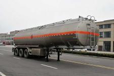 楚飞11.5米33吨3轴铝合金运油半挂车(CLQ9402GYYBA)