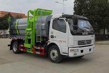 国六东风多利卡侧装型自装卸式垃圾车