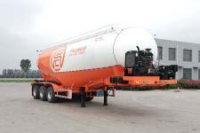 征驰9.5米31.3吨3轴中密度粉粒物料运输半挂车(JJD9403GFL)