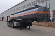旗林9.8米32.5吨3轴毒性和感染性物品罐式运输半挂车(QLG9401GDG)