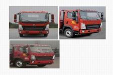 豪沃牌ZZ1117G3315F112型载货汽车图片