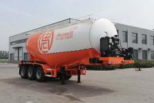 征驰8.5米31.9吨3轴中密度粉粒物料运输半挂车(JJD9401GFL)