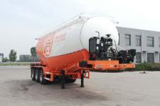 征驰9.1米31.6吨3轴中密度粉粒物料运输半挂车(JJD9402GFL)