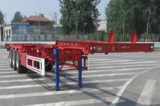 路飞14米34.6吨3轴危险品罐箱骨架运输半挂车(YFZ9401TWYE)