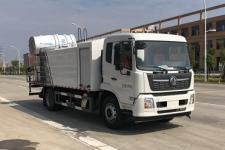 国六东风天锦喷雾抑尘车(选装30-80米雾炮)