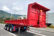 上专8米33.1吨3轴自卸半挂车(CZQ9403ZHX)