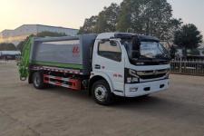 国六东风多利卡8方压缩式垃圾车厂家直销优惠价格13728635266