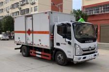 福田奥铃国六4米2易燃液体厢式运输车