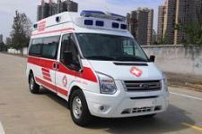 國六福特v348原廠高頂救護車
