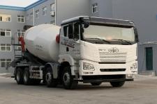 解放牌CA5310GJBP27K2L1T4E5A80型混凝土搅拌运输车图片
