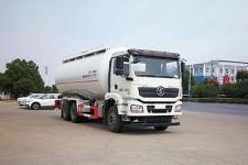 国六陕汽后八轮低密度粉粒物料运输车价格多少钱13329882498