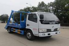 国六东风多利卡摆臂式垃圾车