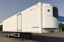 中集13.6米30.8噸3軸冷藏半掛車(ZJV9405XLCQD)