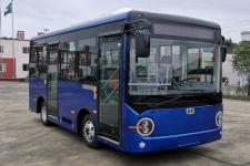 6米|13-15座中植汽车纯电动城市客车(CDL6590URBEV)