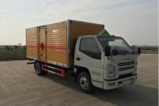 江铃顺达国六4米2易燃液体厢式运输车
