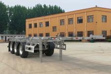 恒通梁山9.3米36.2吨3轴铝合金集装箱运输半挂车(CBZ9405TJZ)