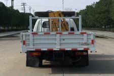 龙星汇牌HLV5032JSQFD型随车起重运输车图片
