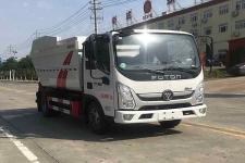 国六福田奥铃8方自装卸式垃圾车