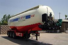华宇达9.8米30.5吨3轴粉粒物料运输半挂车(LHY9402AGFL)